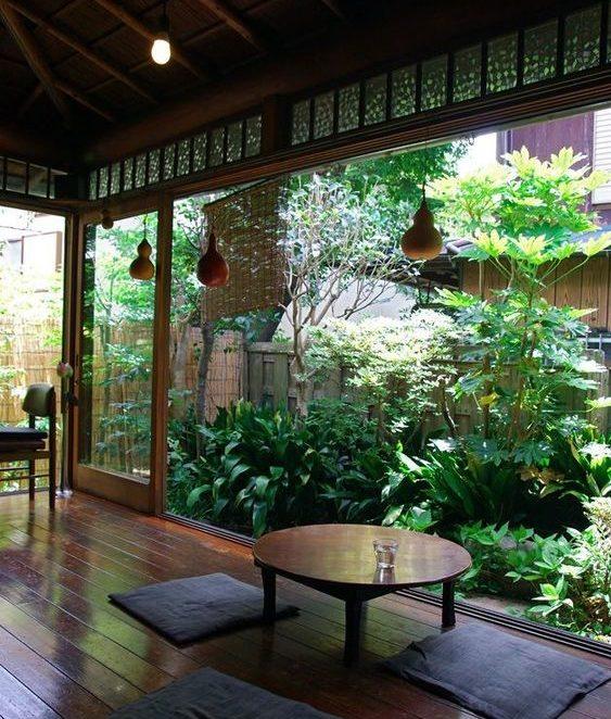 Open to Garden